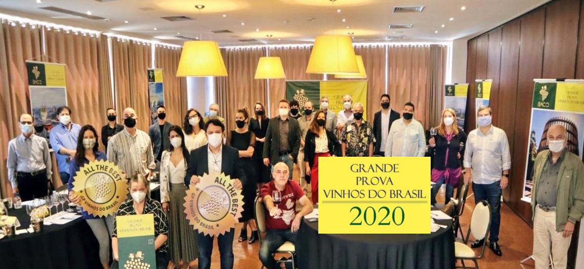Destaques da Grande Prova Vinhos do Brasil 2020