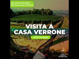 Viagem à CASA VERRONE 30/11/2020