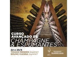 CURSO AVANÇADO DE CHAMPAGNE & ESPUMANTES