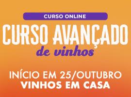 CURSO AVANÇADO DE VINHOS - ONLINE