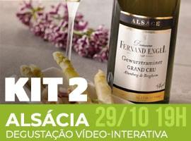 ALSÁCIA - KIT 2 - DEGUSTAÇÃO VÍDEO-INTERATIVA
