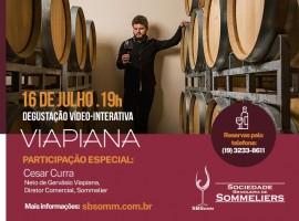 Degustação vídeo-interativa: Vinícola Viapiana