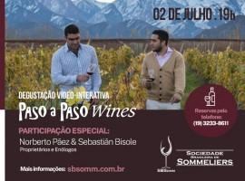Degustação Vídeo-Interativa: Paso a Paso Wines (Kit 1)