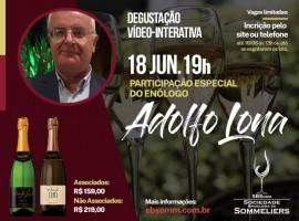Degustação vídeo-interativa: Enólogo Adolfo Lona