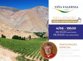 Degustação vídeo-interativa: Vinícola Falernia