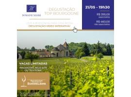 Degustação vídeo-interativa: Top Bourgogne